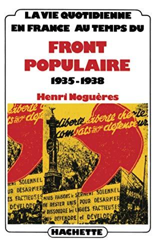 9782010026195: En France au temps du Front Populaire : 1935-1938