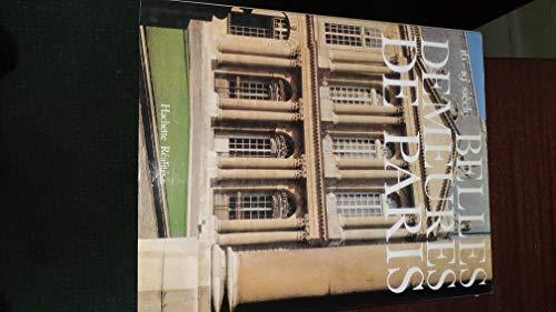 BELLES DEMEURES DE PARIS 16e - 19e SIECLE: Claude Fr�gnac