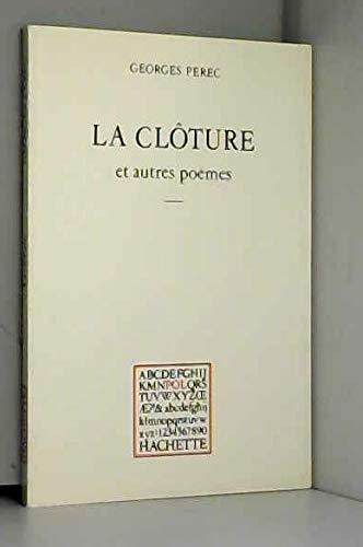9782010069840: La clôture: Et autres poèmes (POL) (French Edition)