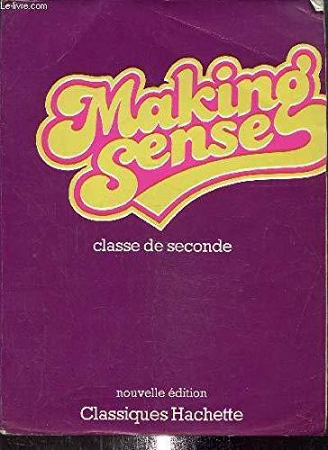 9782010078590: Making sense classe de seconde