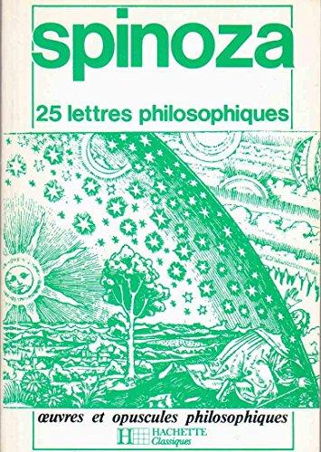 9782010088179: 25 lettres philosophiques