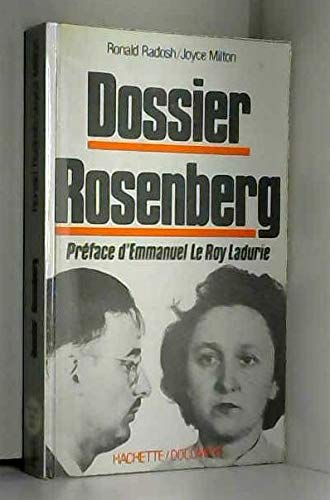 9782010107726: The Rosenberg File: A Search for the Truth