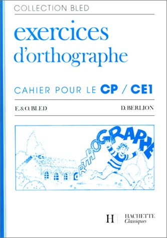 9782010111693: Cahier d'orthographe CP-CE1 (édition 1986)