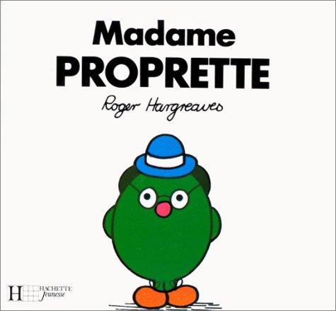 9782010117763: Madame Proprette (Bonhomme)