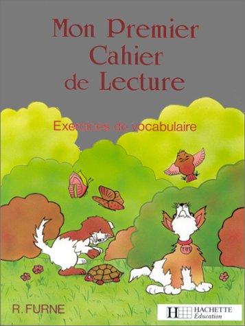 9782010117985: Mon premier cahier de lecture. Exercices de vocabulaire