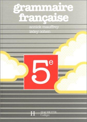 9782010122903: Grammaire française : 5e