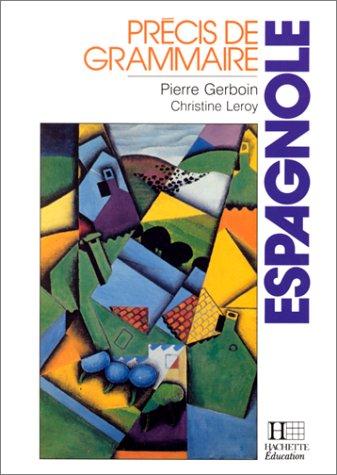 9782010131783: Précis de grammaire espagnole