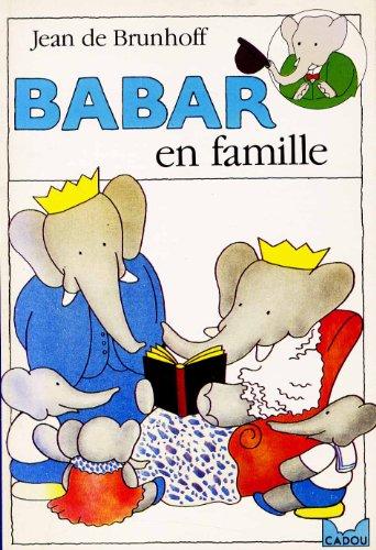 9782010146282: Babar en famille