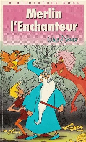 Merlin l'enchanteur: Disney, Walter Elias