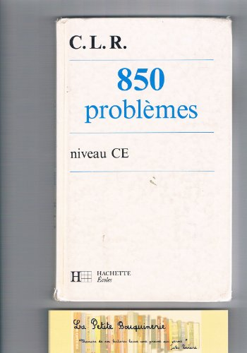 9782010159220: 850 problèmes : Niveau CE