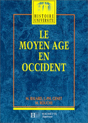 9782010160134: Le moyen age en occident