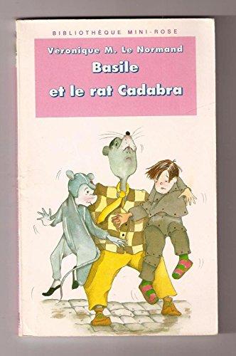 9782010187865: Basile et le rat Cadabra