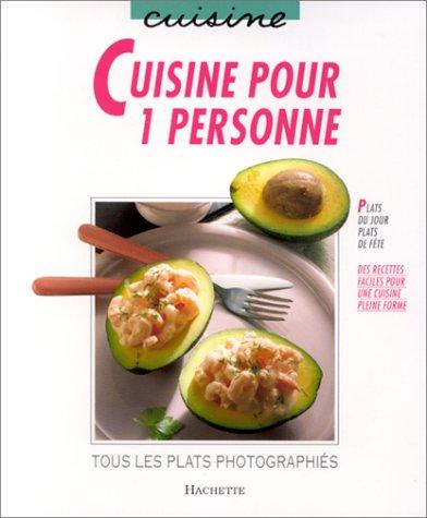 9782010189906: Cuisine pour 1 personne