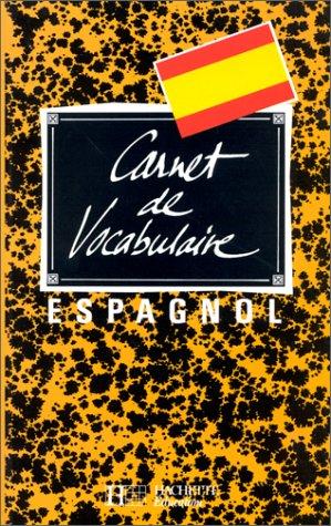 9782010191275: Carnet de vocabulaire : espagnol
