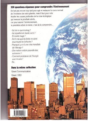 9782010194153: Géant environnement : Le livre des 10-15 ans
