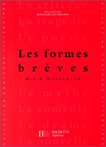 9782010195525: Les Formes Breves (French Edition)