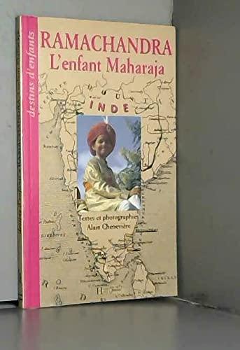 9782010198373: Ramachandra, l'enfant maharaja