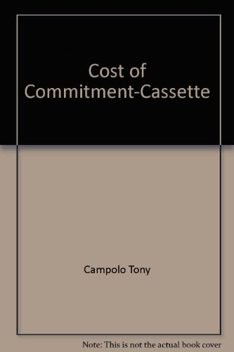9782010199738: Cost of Commitment-Cassette