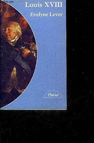 9782010202629: Louis XVIII
