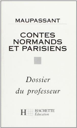 9782010207129: contes normands et parisiens