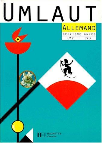 9782010211034: ALLEMAND 2EME ANNEE LV2 ET LV3 UMLAUT (Hachette Education)