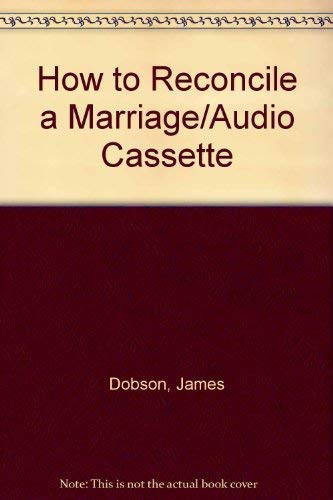 9782010836008: How to Reconcile a Marriage/Audio Cassette
