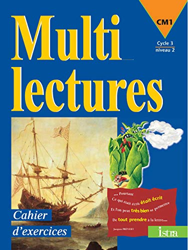 9782011161154: Multilectures, CM1, cycle 3 niveau 2 : cahier d'exercices