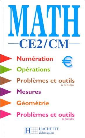 9782011162137: Maths, CE2 - CM. Elève