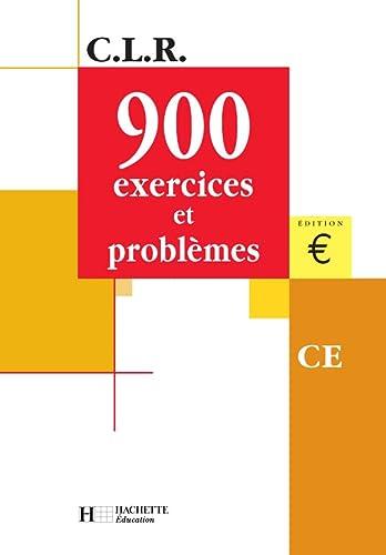 9782011162915: 900 problèmes, CE (Livre de l'élève), Euro
