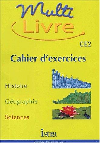 9782011163387: Multi livre CE2. : Cahier d'exercices