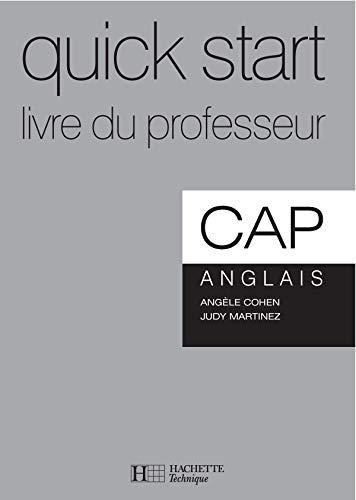 9782011166197: Anglais CAP Quick Start : Livre du professeur