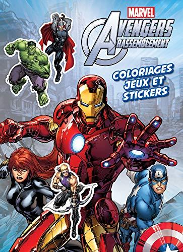 9782011167392: Avengers Rassemblement : Coloriages, jeux et stickers