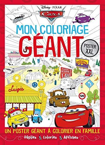 9782011167439: Cars : Mon coloriage géant