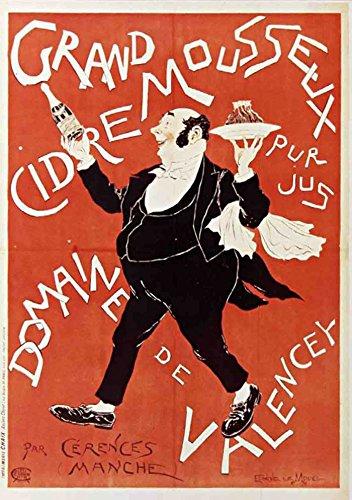 Carnet Blanc Affiche Cidre Valencey: Le Mouel, Eugene