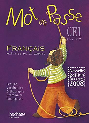9782011174154: Français. CE1. Per la Scuola elementare (Mot de passe)