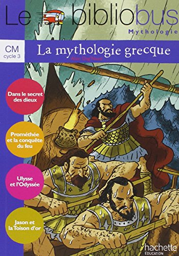 9782011175076: La mythologie grecque CM cycle 3