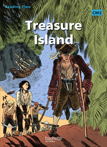 9782011175434: Reading time treasure Island CM2 - livre élève