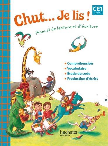 9782011179852: Chut... Je lis ! - Méthode de lecture CE1 - Cahier d'exercices - Ed. 2012