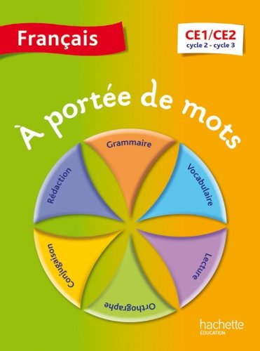 9782011181350: A port�e de mots - Fran�ais CE1-CE2 - Livre �l�ve - Ed. 2014