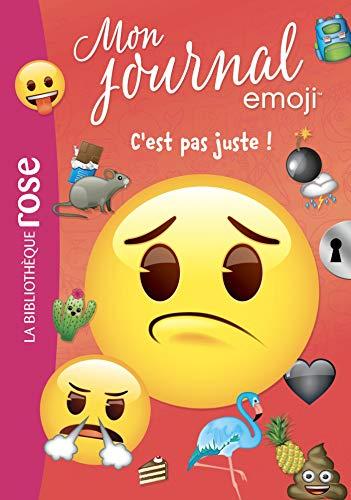 9782011183460: emoji TM mon journal 04 - C'est pas juste !
