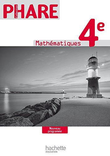 9782011201058: Phare 4e - Livre du professeur - Edition 2011