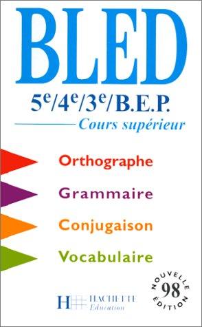 9782011251466 Francais 5eme 4eme 3eme Bep Orthographe