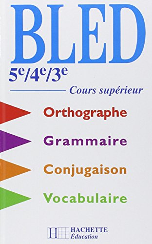 9782011251916: Cours d'orthographe, 5e, 4e, 3e,