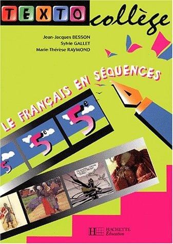 9782011252593: Texto college cinquième français en sequences eleve
