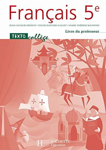 9782011253880 Francais 5e Livre Du Professeur Edition