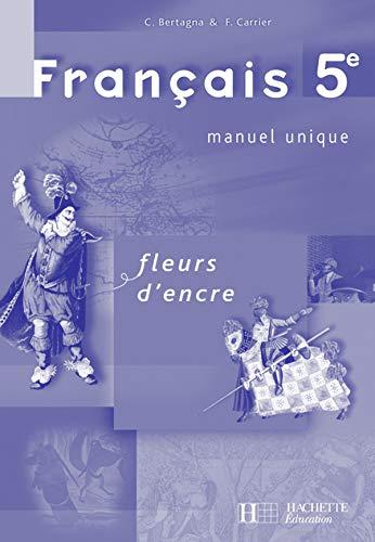 9782011253903: Français 5e : Livre du professeur