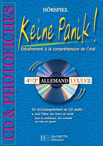 9782011254399: Keine Panik ! Photofiches en accompagnement du feuilleton radio , Allemand 4e, 3e (1Cédérom)