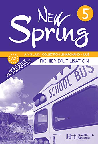 9782011254702: New Spring 5e (French Edition)