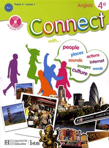 9782011254894: Anglais 4e Connect (1CD audio)
