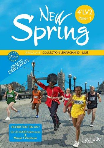 9782011255624: New Spring 4e LV2 Palier 1 ann�e 1 - Anglais - Fichier tout en un - Edition 2010